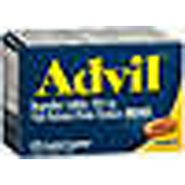 Advil Ibuprofen 200 mg Coated Caplets - 24 ct