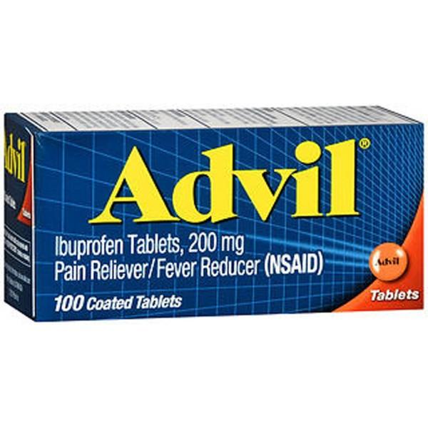 Advil Ibuprofen Pain Reliever/Fever Reduce