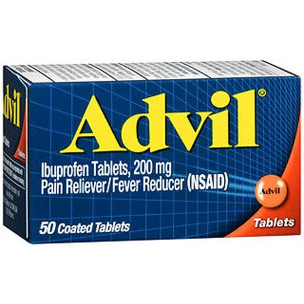 Advil Ibuprofen Pain Reliever/Fever Reducer