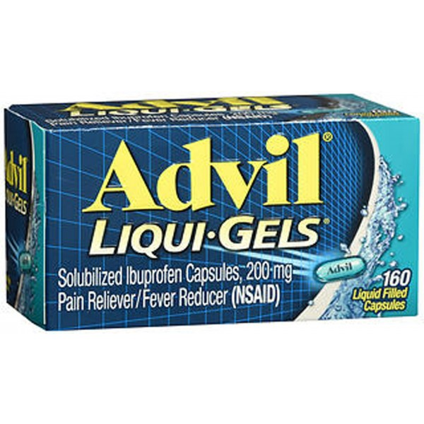 Advil Liqui-Gels Liquid Filled Capsules