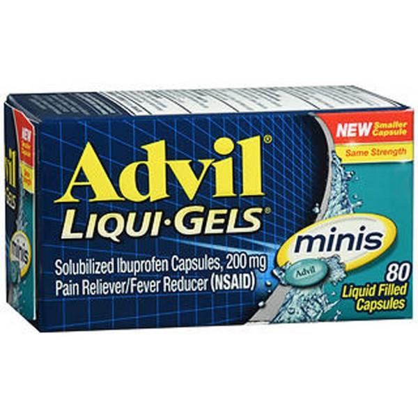 Advil Liqui-Gels Minis Capsules