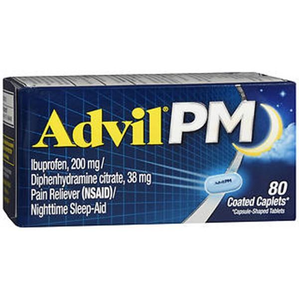 Advil PM - 80 Coated Caplets