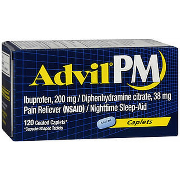 Advil PM Caplets - 120 ct