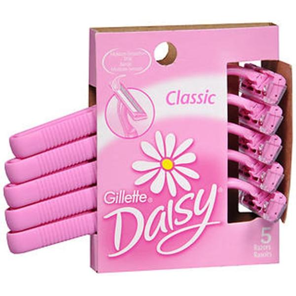Gillette Daisy Classic Disposable Razors- 5 Ct.