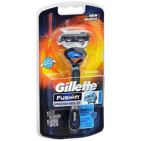 Gillette Fusion ProShield Chill Razor - Each