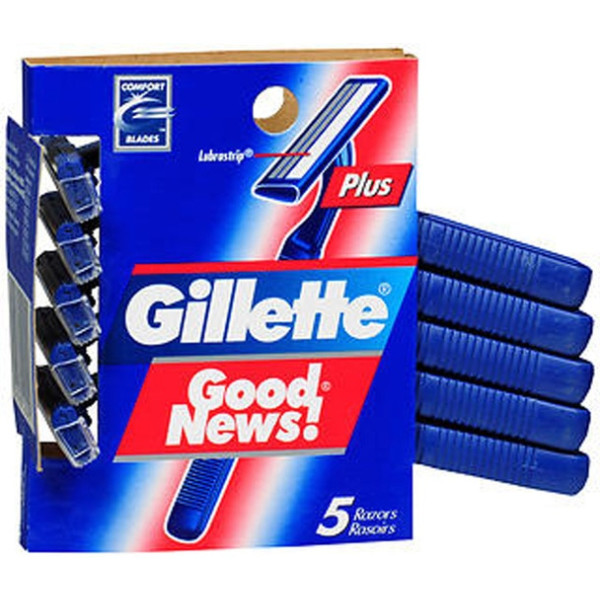 Gillette Sensor2 Disposable Razor- 5 Ct.