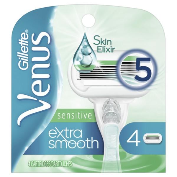 Gillette Venus Sensitive Cartridges - 4 ct