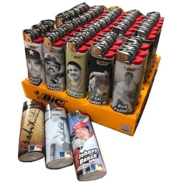 Bic Baseball Legends Lighters