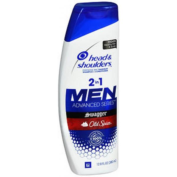 Head & Shoulders Men Advanced Series 2 in 1 Dandruff Shampoo + Conditioner Old Spice Swagger - 12.8 oz