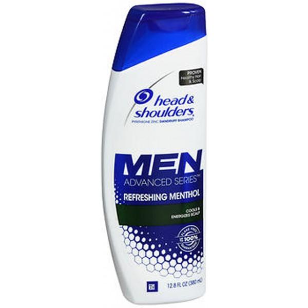 Head & Shoulders Men Advanced Series Dandruff Shampoo Refreshing Menthol - 12.8 oz