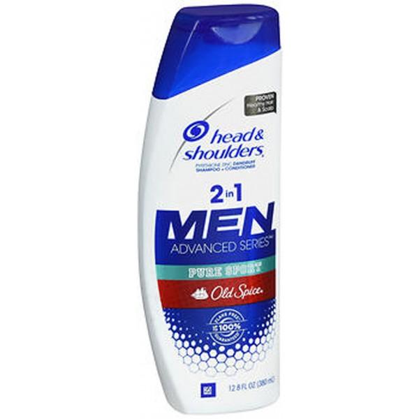 Head & Shoulders Men Advanced Series Full & Thick 2 in 1 Dandruff Shampoo + Conditioner - 12.8 oz