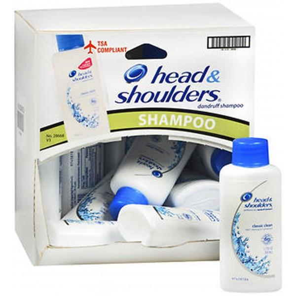 Head and Shoulders Classic Clean Dandruff Shampoo - 1.7 oz Tray of 18