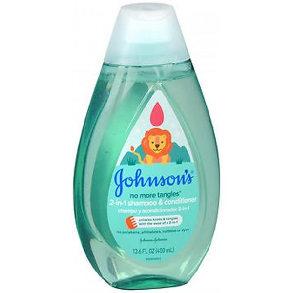 Johnson's No More Tangles 2-in-1 Shampoo & Conditioner - 13.6 oz