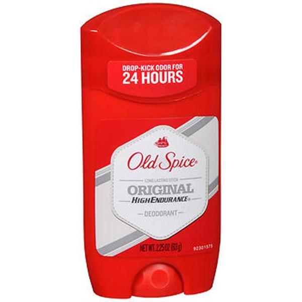Old Spice High Endurance Deodorant Long Lasting Stick Original Scent - 2.25 oz
