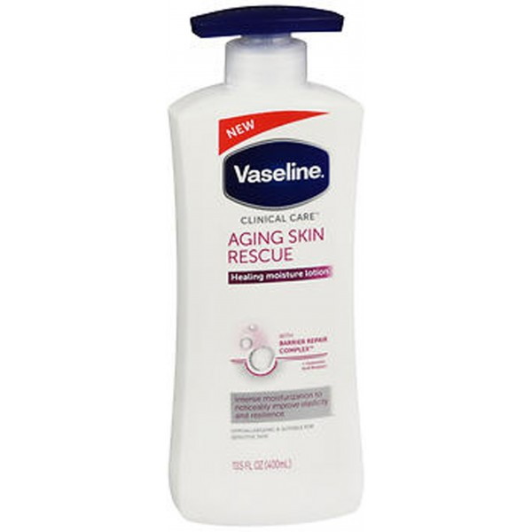 Vaseline Clinical Care Body Lotion Aging Skin Rescue - 13.5 oz